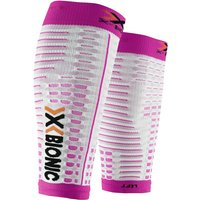 X-BIONIC Running Lady Spyker Competition Calf Compressor Weiß/Pink S
